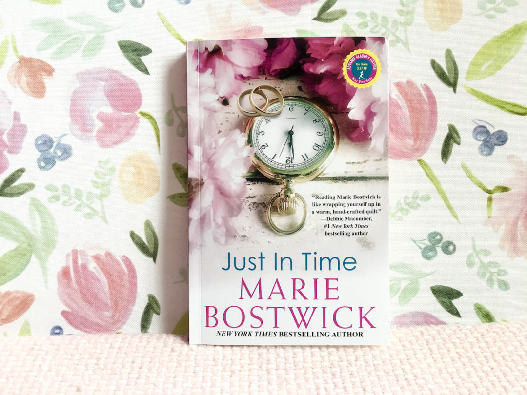 my new book, just in time, hits shelves March 27th!